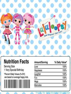 free printable lalaloopsy birthday invitations ; 4442c8d435c6891108537a49758d131d--drink-labels-lalaloopsy-party