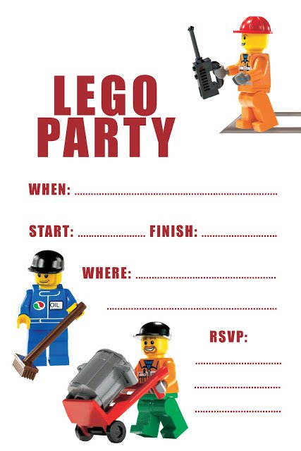 free printable lego birthday invitations ; 9905615