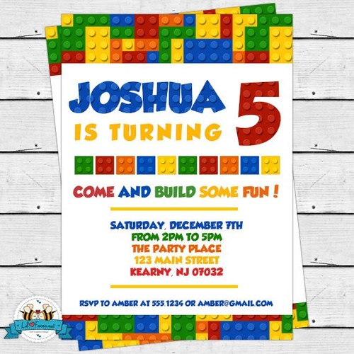 free printable lego birthday invitations ; Charming-Lego-Birthday-Party-Invitations-Which-Can-Be-Used-As-Birthday-Invitation