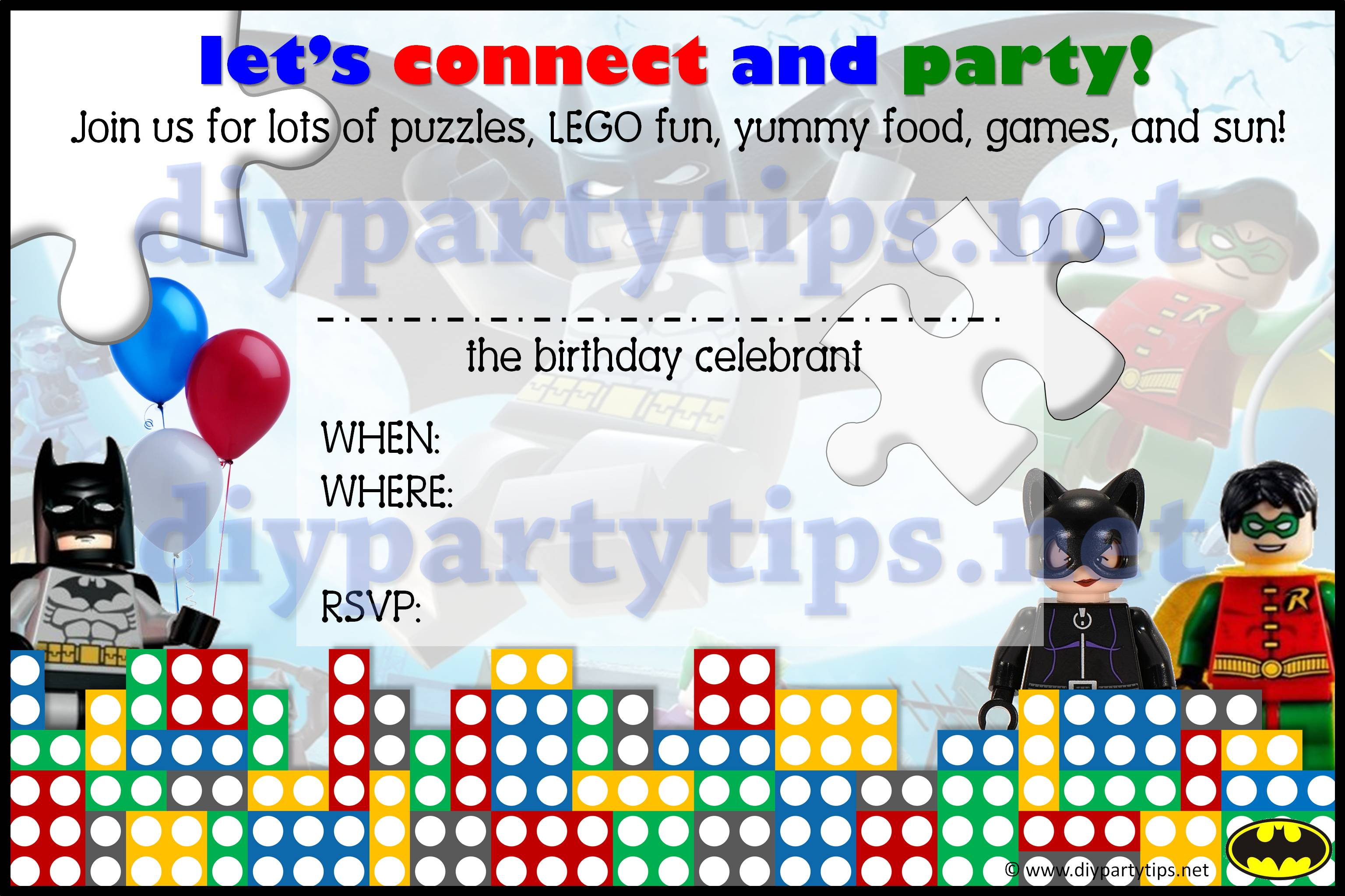 free printable lego birthday invitations ; Lego-Birthday-Invitation-Template-Lolas-DIY-Party-Tips-Watermark
