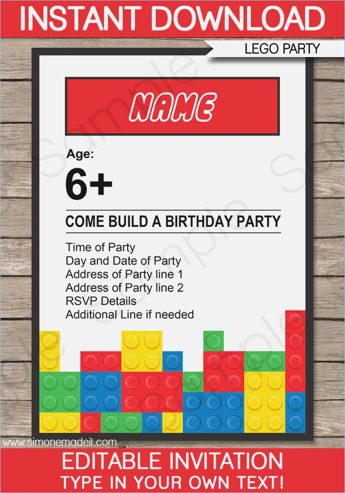 free printable lego birthday invitations ; lego-birthday-party-invitations-template-lego-party-invitations-of-printable-lego-birthday-invitation