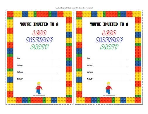 free printable lego birthday invitations ; lego-birthday-party-invitations-template