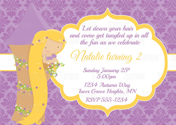 free printable rapunzel birthday party invitations ; il_570xN