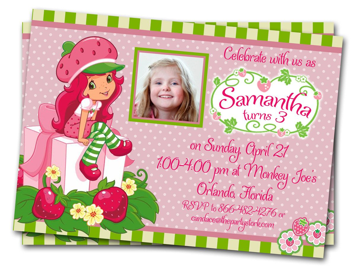 free printable strawberry shortcake birthday party invitations ; 1ca4d941329470a4173acc6d05640825
