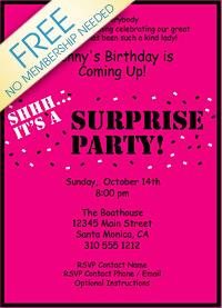 free printable surprise birthday party invitations ; 8062929524301cc850374a66664c4e46