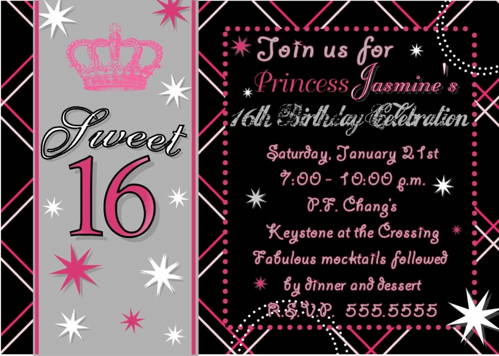 free printable sweet 16 birthday party invitations ; sample-free-printable-sweet-16-party-invitations-18-for-with-free