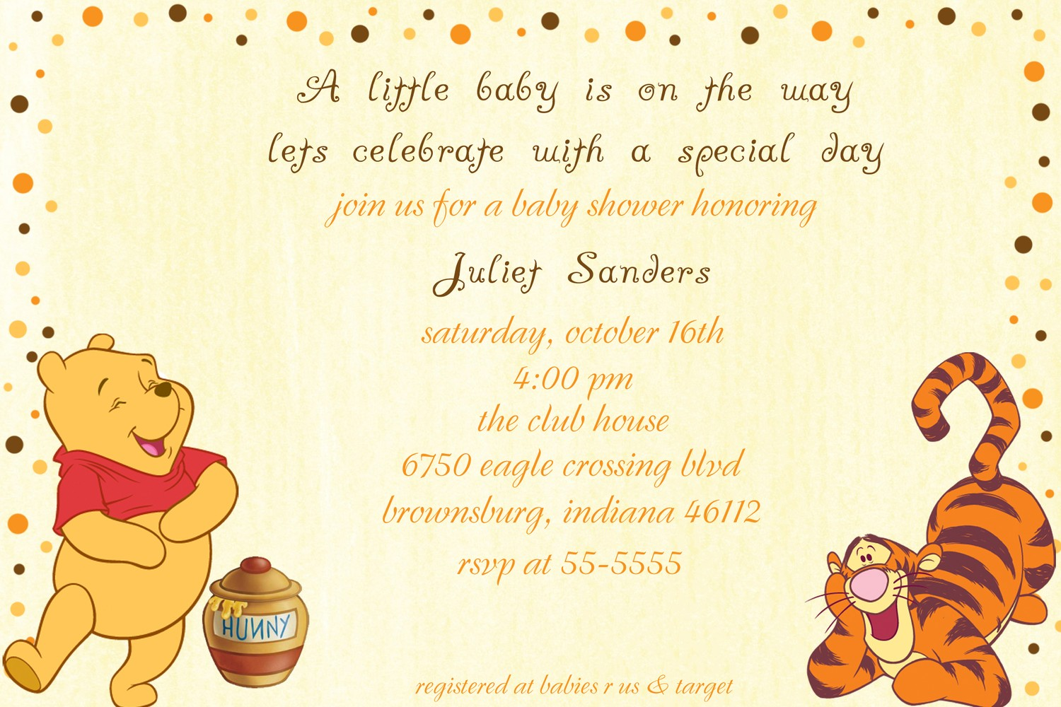 free printable winnie the pooh first birthday invitations ; Excellent-Winnie-The-Pooh-Baby-Shower-Invitations-To-Create-Your-Own-How-To-Make-A-Baby-Shower-Invitation