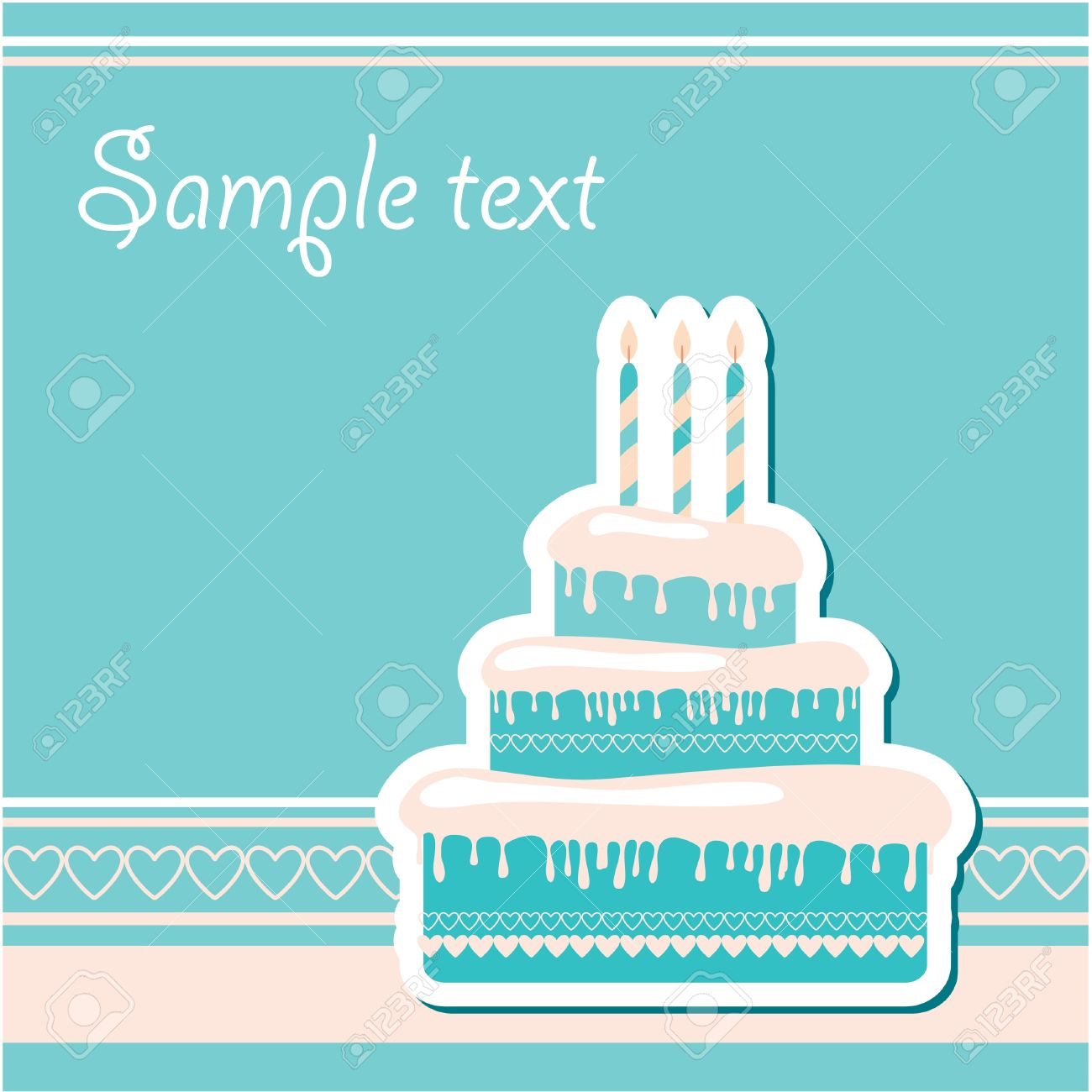 free sample birthday wishes ; 9717352-template-frame-for-the-birthday-greetings-insert-your-text-
