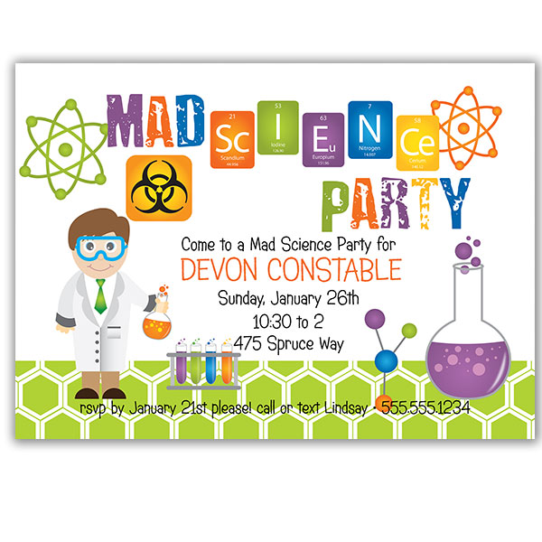 free science birthday party invitation templates ; science-party-invitations-by-means-of-creating-fetching-outlooks-around-your-Party-Invitation-Templates-19