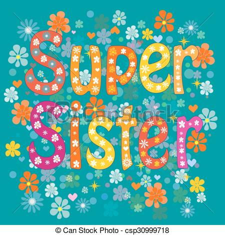 free sister birthday clipart ; best-sister-ever-vector-clip-art_csp30999718