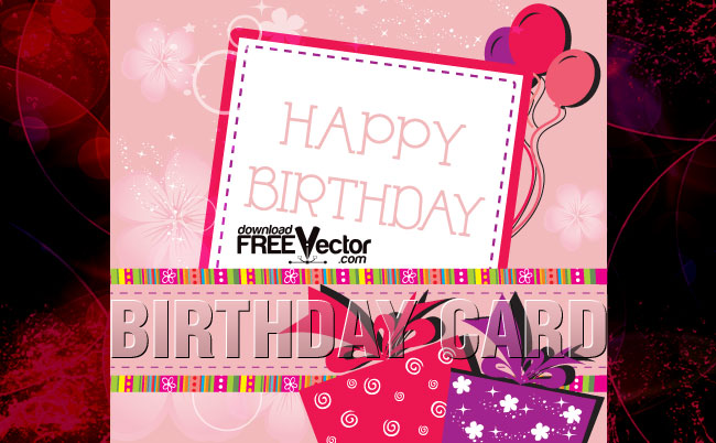 free vector birthday card designs ; birthday_card