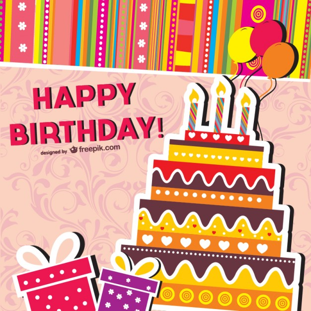 free vector birthday card designs ; cartoon-birthday-cards-vector_23-2147490515
