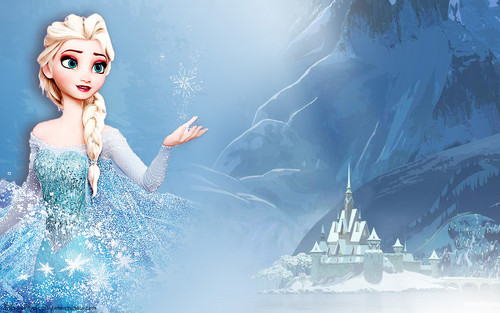 frozen wallpaper for birthday ; Elsa-the-Snow-Queen-image-elsa-the-snow-queen-36219635-500-313