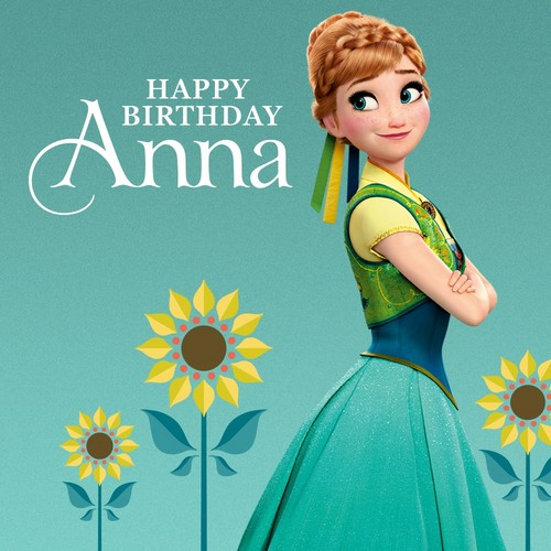 frozen wallpaper for birthday ; Happy-Birthday-Anna-frozen-fever-38583294-500-500