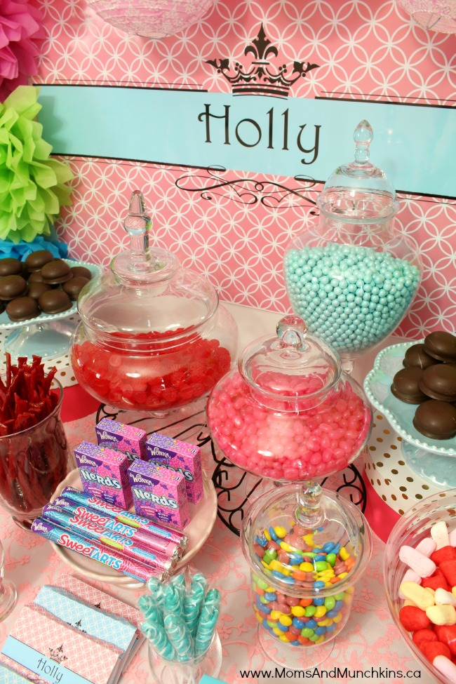 fun birthday party themes ; candy-buffet-8m
