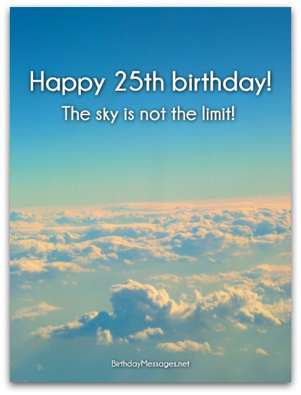 funny 25th birthday card messages ; 25th-birthday-wishes-2