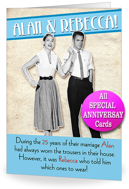 funny 25th birthday card messages ; SILVER%2520ANNIV