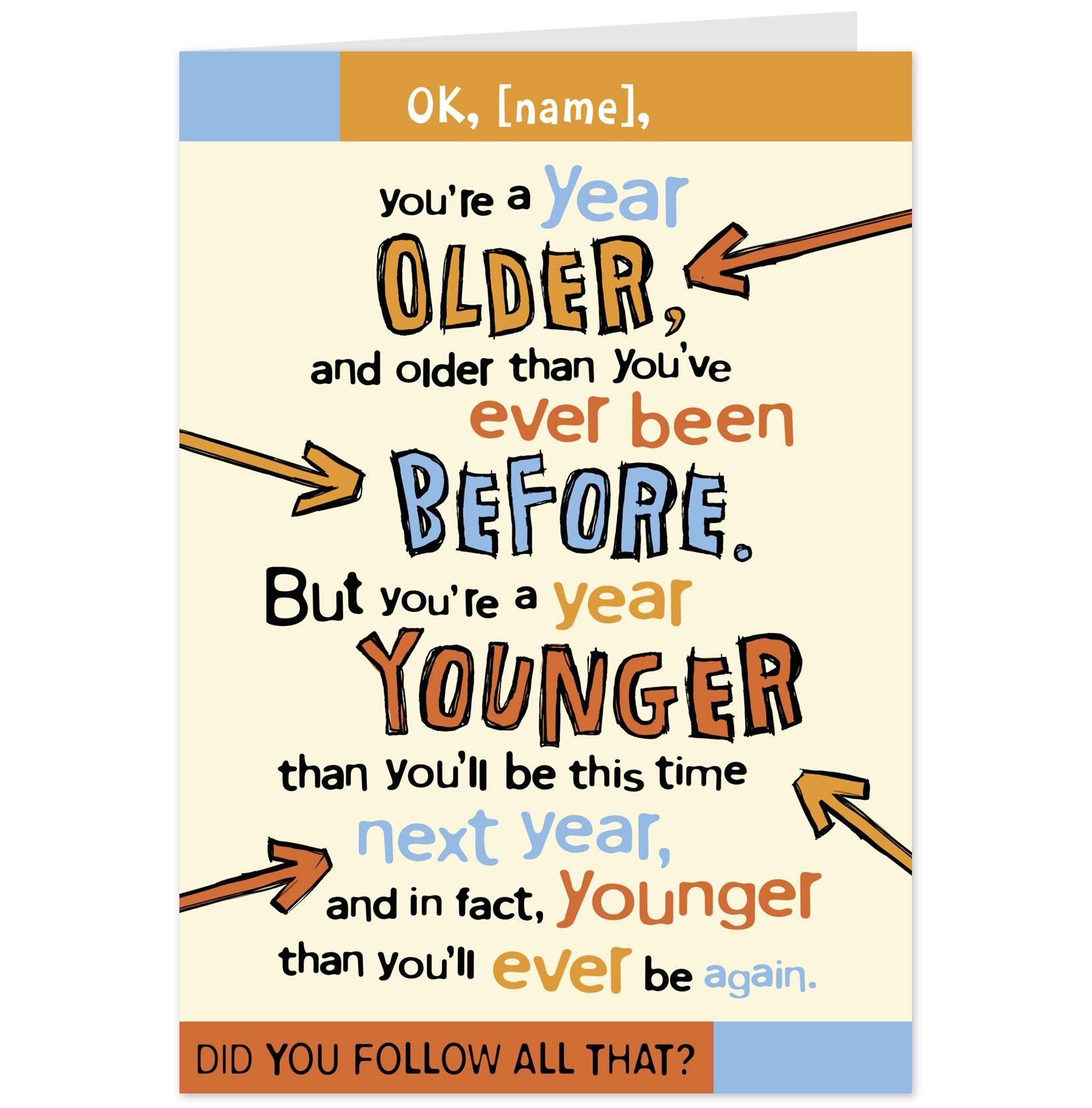 funny birthday card messages ; 2968323db85dd73e7c04f5aa6f44bec3