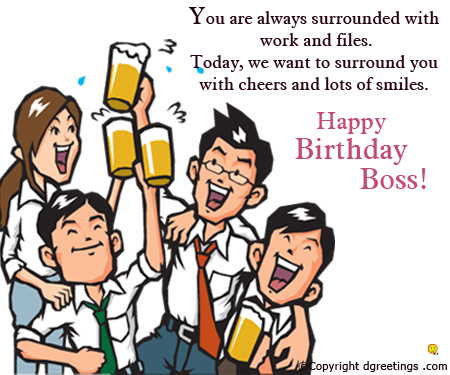 funny birthday card messages for boss ; birthday-boss111010