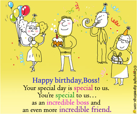funny birthday card messages for boss ; your-special-day-card