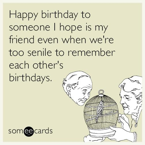 funny happy birthday greeting cards ; funny-birthday-greeting-cards-square-beige-bird-and-man-picture-happy-birthday-elderly-best-friends-forever-funn-ecard-humorous-greeting-card