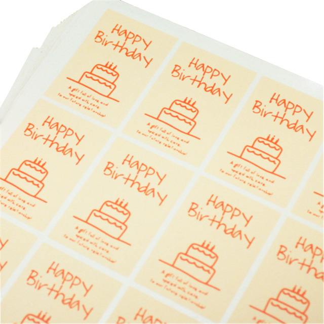 funny happy birthday stickers ; HEY-FUNNY-happy-birthday-Scrapbooking-Kraft-Paper-Labels-Envelopes-Stickers-and-Gift-Packaging-Seal-Seals-Sticker