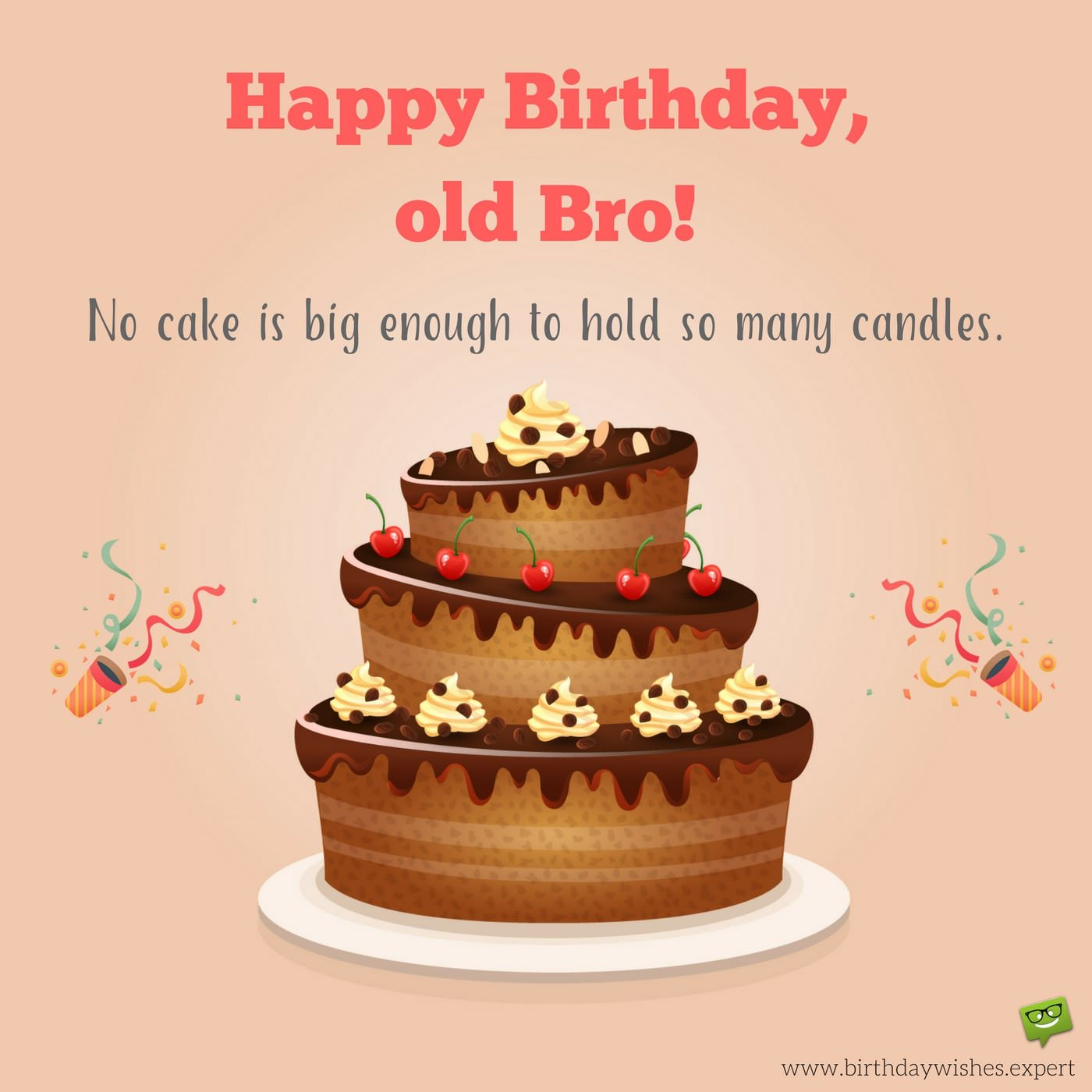 funny happy birthday wishes for brother ; Funny-birthday-wish-for-my-brother