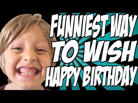 funny ways to wish happy birthday ; hqdefault