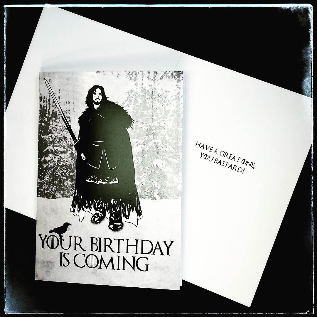 game of thrones themed birthday card ; 72d44a2d453a6db6c3649f6e77d227f9