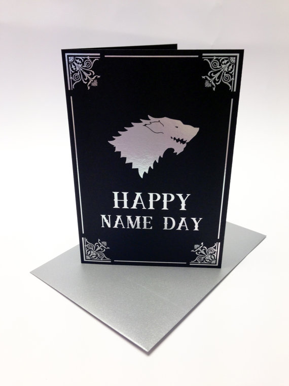 game of thrones themed birthday card ; fe5b8143a1ec8342b2133469b1098445