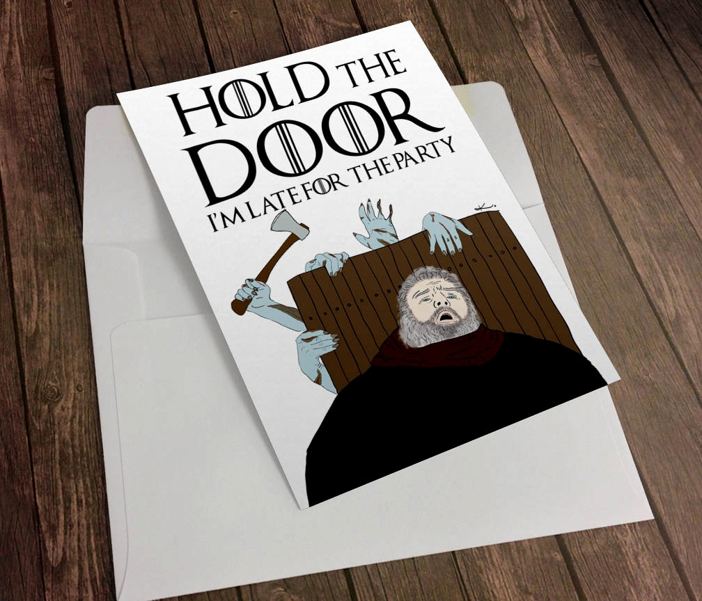 game of thrones themed birthday card ; game-of-thrones-birthday-card-fresh-game-of-thrones-hodor-hold-the-door-funny-birthday-greeting-of-game-of-thrones-birthday-card