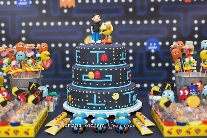 game themed birthday party ; 2296203d7302b65ab5f99865502a7f1e