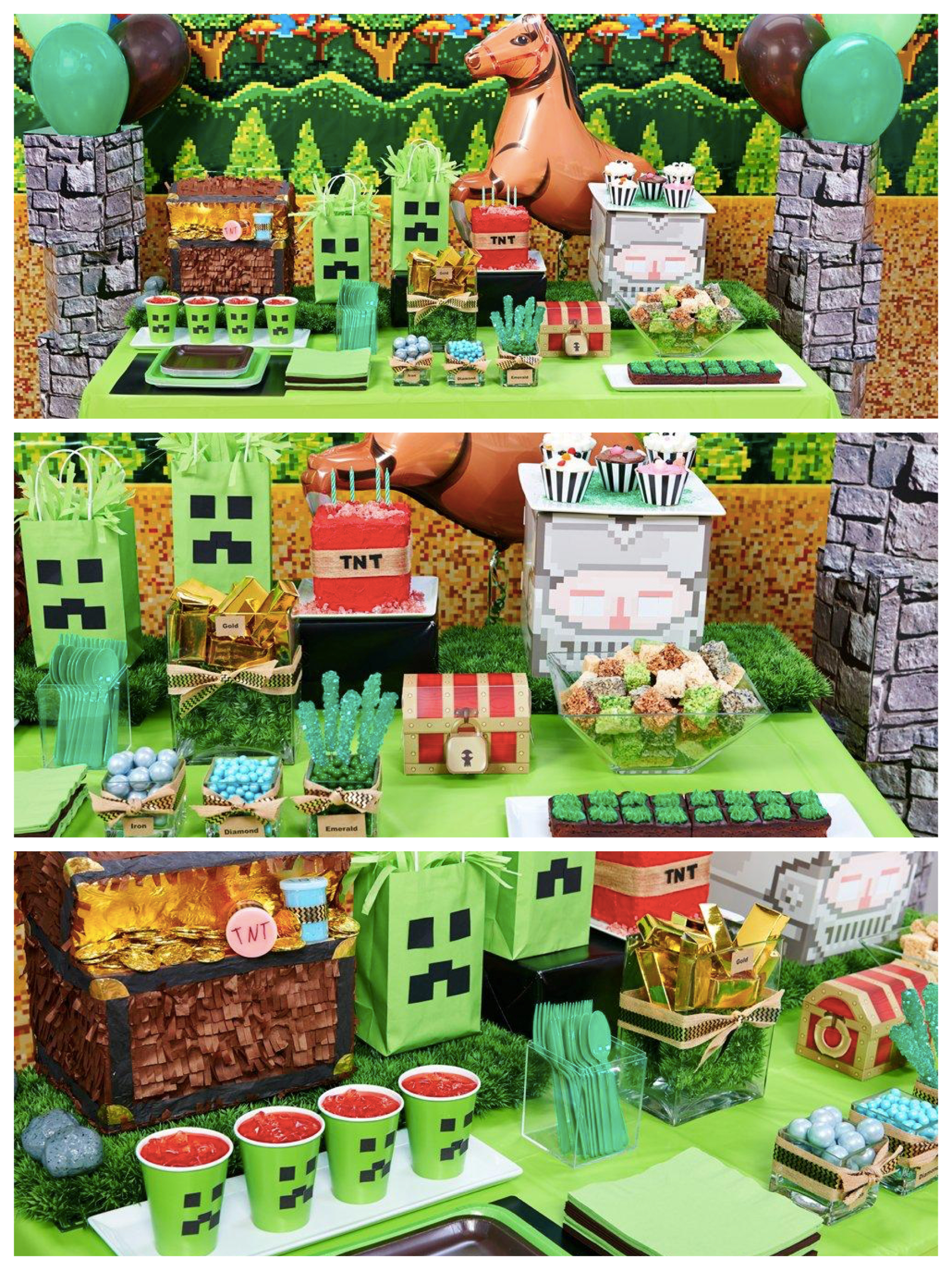game themed birthday party ; 9a8f95bae9364d029ce88a581a8fe2dc