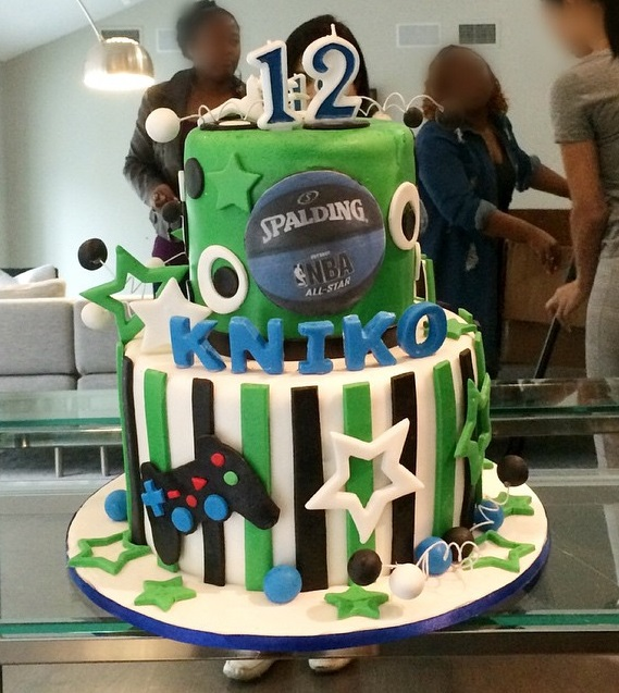 game themed birthday party ; draya-michele-son-kniko-video-game-themed-birthday-party-04-christal_rock-6