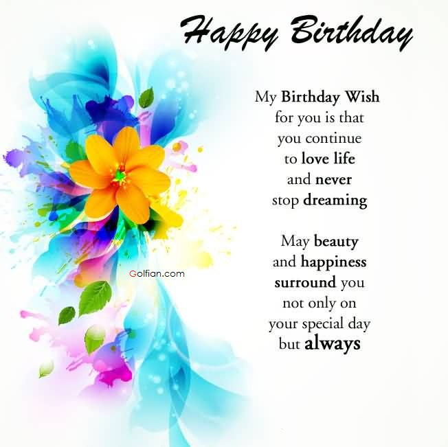 general birthday card messages ; Great-Greetings-Birthday-Wishes-For-Lover-Quotes