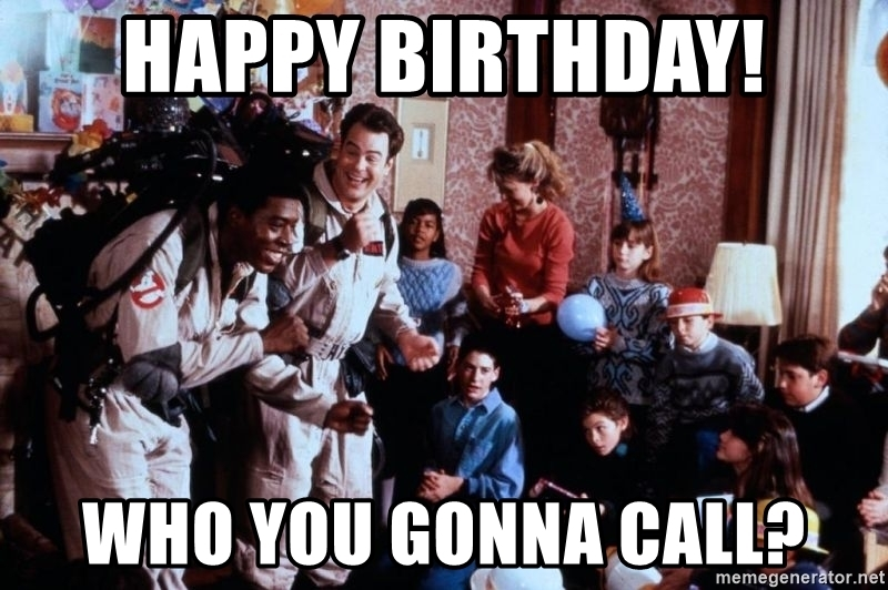 ghostbusters happy birthday ; 65086184