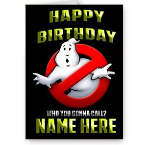 ghostbusters happy birthday ; s-l300