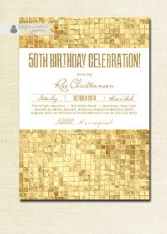 golden birthday invitation template ; golden-birthday-invitations-by-way-of-using-an-impressive-design-concept-for-your-elegant-Bridal-Shower-Invitation-Templates-16