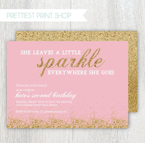 golden birthday invitation template ; pink-and-gold-birthday-invitations-using-an-excellent-design-idea-aimed-to-prettify-your-Birthday-Invitation-Templates-19