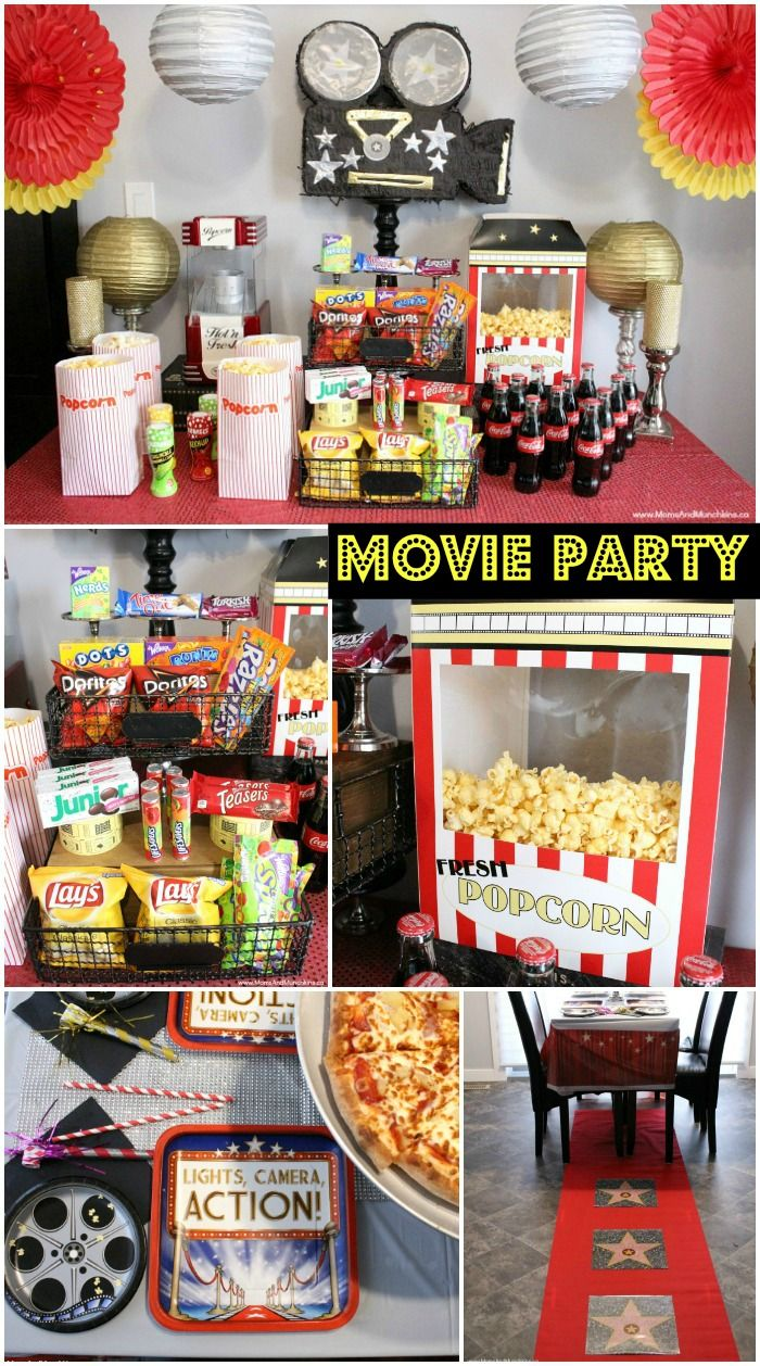 good birthday themes ; 4542767d9f57c36df35fc52ad59b982d--movie-party-decorations-movie-themes-party