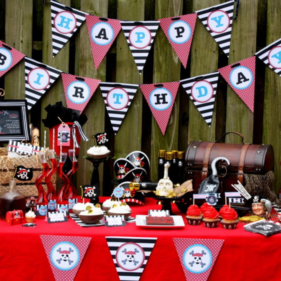 good birthday themes ; Pirate%2520Party