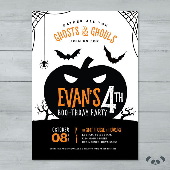 halloween birthday invitations with photo ; 2511a880e8371a09a6d72fc912ae2dfd