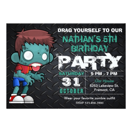 halloween birthday invitations with photo ; cd0c0bcf581383ac2dd5e1183b8217d5