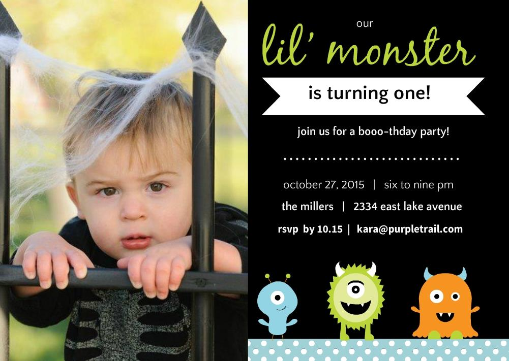 halloween birthday invitations with photo ; halloween-1st-birthday-party-invitations-attractive-Party-invitations-as-your-best-friendship-appreciation-to-your-best-friends-2