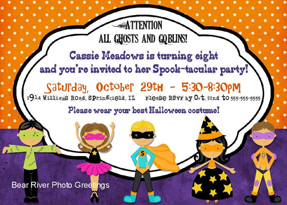 halloween birthday invitations with photo ; halloween-birthday-party-invitations-and-terrific-invitations-fitting-aimed-at-giving-pleasure-to-your-Birthday-Invitation-Templates-15