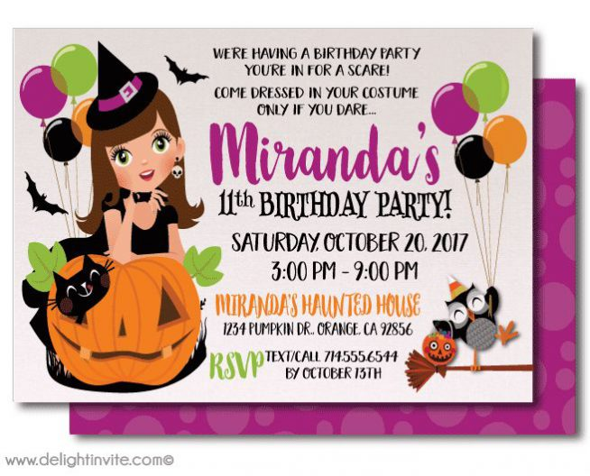 halloween birthday invitations with photo ; halloween-birthday-party-invitations-and-this-design-Birthday-Invitation-will-exquisite-with-the-invitation-design-9-654x528