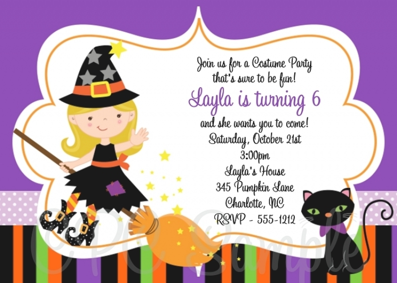 halloween birthday invitations with photo ; halloween-costume-party-birthday-party-invitation-adult-kids-boy-girl