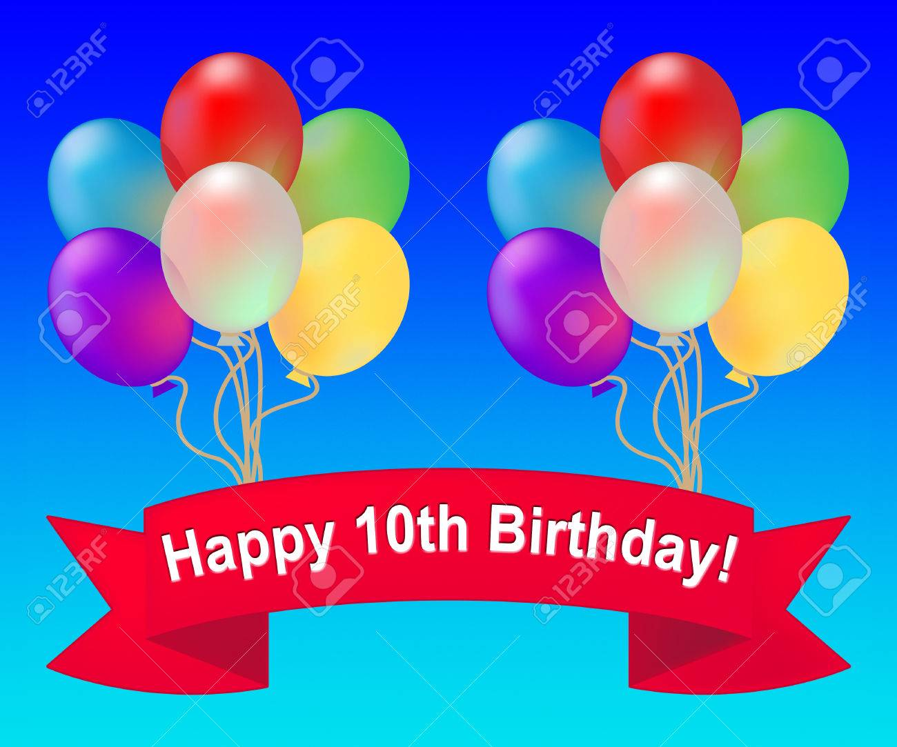 happy 10th birthday clipart ; 68830717-happy-tenth-birthday-balloons-meaning-10th-party-celebration-3d-illustration