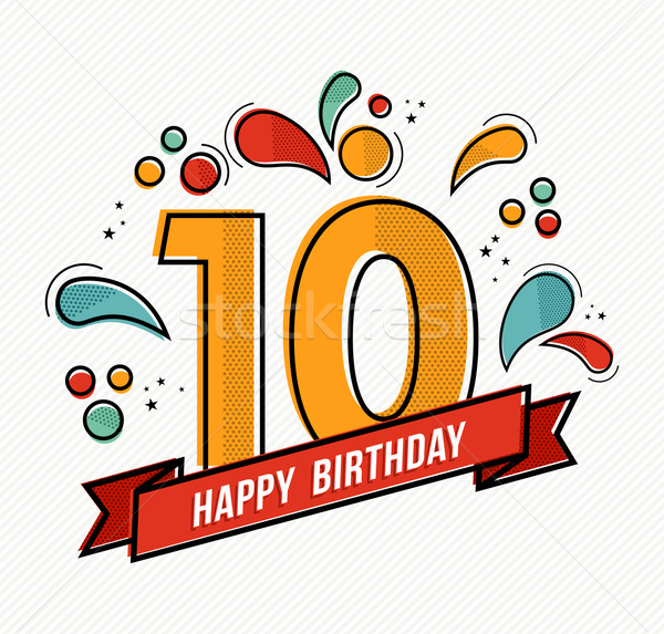 happy 10th birthday clipart ; 7112317_stock-vector-colorful-happy-birthday-number-10-flat-line-design