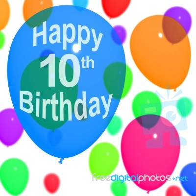 happy 10th birthday clipart ; balloons-with-happy-10th-birthday-10086714